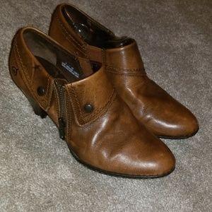 Born Brown Booties